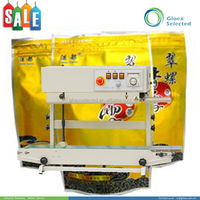 Plastic Stand-up Pouch CE approved automatic band continuous sealer