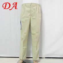 European style men work pants with pockets