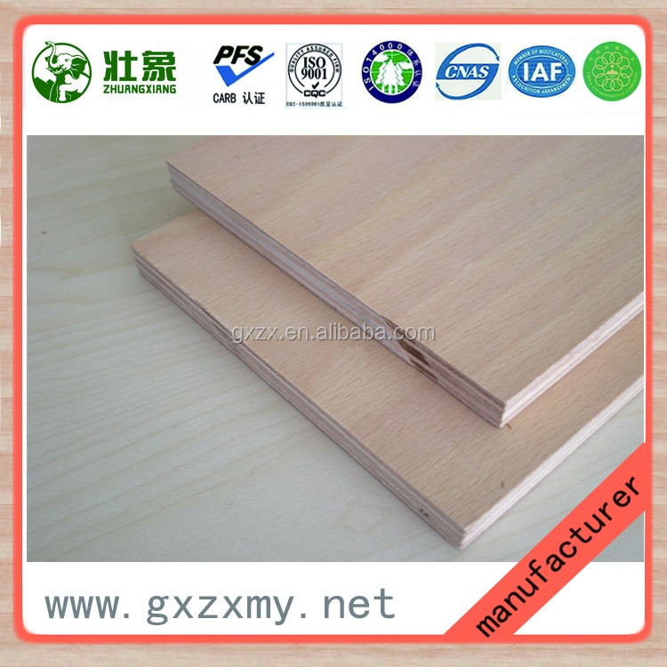 Formaldehyde Free Ply Board Manufacturers Waterproof Plywood Board