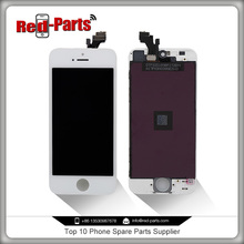 Lcd touch screen white mobile phone display for iphone 5
