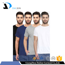 colorful high quality men 95% cotton 5% elastane t shirt blank