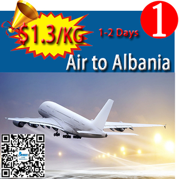 Cash on delivery from china air freight forwarder company/agent to Albania skype:candyasb
