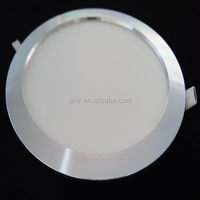 Hot Selling Grey round 3w Ultra Slim recessed Led panel light