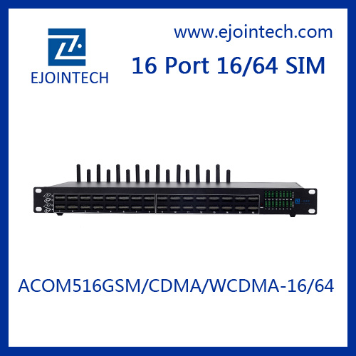 ejointech Ejoin 16 ports android voip cdma gateway for telephone mobile ip phone with sim cards