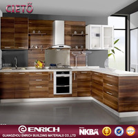 2016 newest modular commercial kitchen cabinet kitchen set