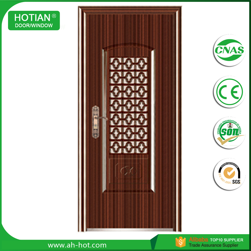 Exterior steel security door security steel mesh screen door bathroom door seal strip