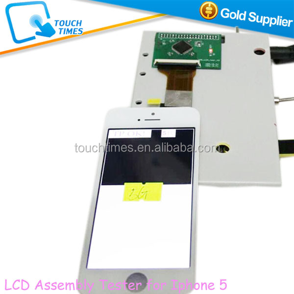 High Accuracy Mobile Phone LCD Assembly Tester for Iphone 5 5G 5S to Detact LCD Touch Screen