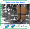 Durable Quality Waterproof Knee Boots Waterproof Rain Boots