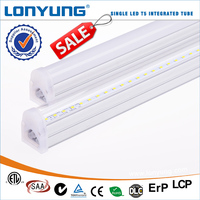 0.6m 2ft LED T5 light fixture integral lighting Saa Rohs energy star Approval luminaire candle bags