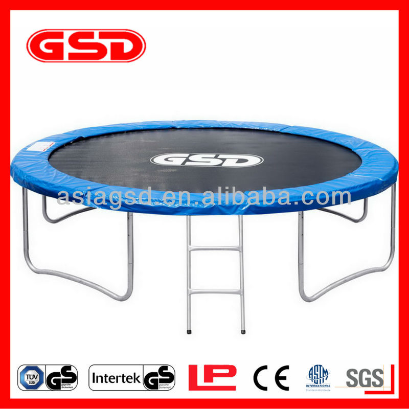 GSD 6FT-16FT trampoline with ladder for kids