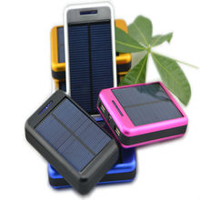 10000mAh solar charger for mobile phone with high capacity good quality manufacturers,suppliers