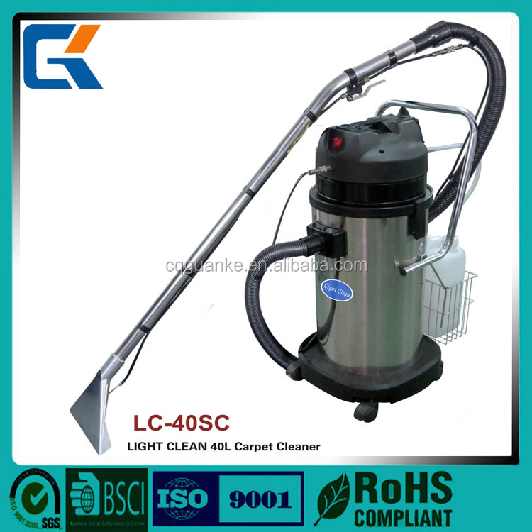 New disign LC-40SC 40L proffissinal carpet extraction cleaning machine