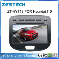 ZESTECH 2 din car dvd player for Hyundai I10 cd mp3 player China products with 3g gps TV bluetooth