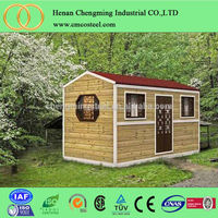 new type foldable tiny house/wooden chalet/log cabin from China directly