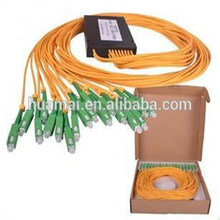 2*16 SC PC PLC Splitter Module Optical Fiber Splitter 1310/1550 optical splitter