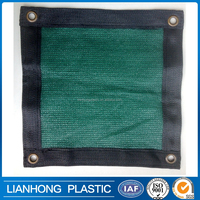 80% shadowing HDPE shade sail, agriculture use sun shade net for greenhouse, customized size green shade net in roll