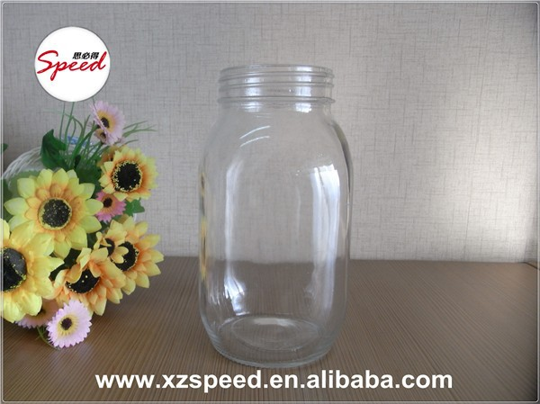 2015 best sale Mason Glass Jar for Honey/2015 high quality 900ml enough Capacity glass jar