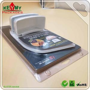 PET clamshell blister packaging box