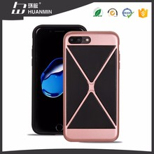New Design TPU PC double Layer Mobile Phone Case Hybrid Phone Case For i7