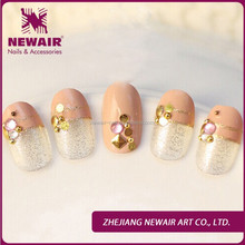Fancy 3D nail tips luxury nail artificial art safe and healthy nail tips suppliers