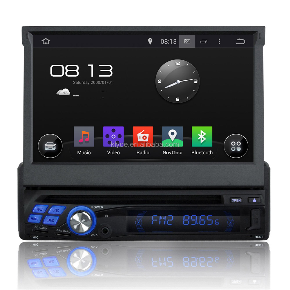factory customize android 4.4 quad core RK3188 ROM 16G navigator auto 1 din universal car dvd
