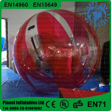 Super Quality Inflatable Water Walking Roller Ball For Sale
