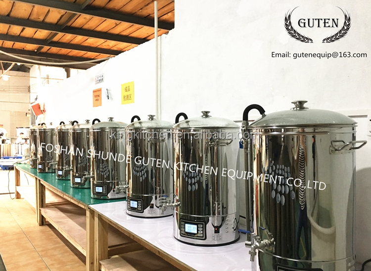 electric beer mash tun/DIY beer home brew machine/mini beer making equip/ popular with european BM-S300M-1