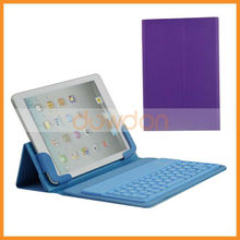 New Products 76-keys Stock Silicone Bluetooth Keyboard For Ipad Mini Leather Cover