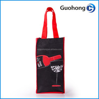 Non woven wine bag with 4 bottles