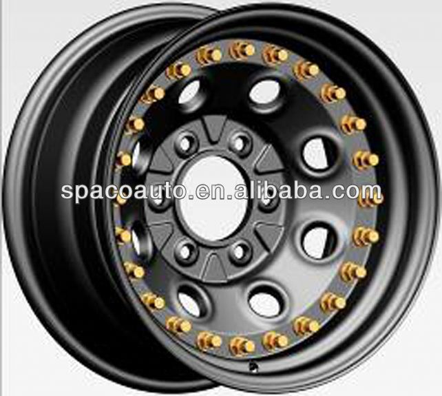 4x4 3 pcs vesteon wheels double side beadlock