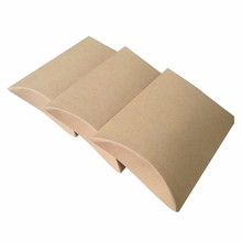 Wholesale Custom Print Large Kraft Paper Pillow Box Packaging