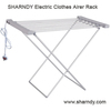 Ningbo EDEANS Freestanding and folding Aluminum clothes rack Electric Clothes Airer