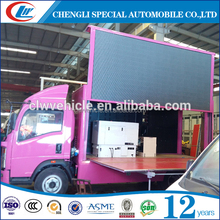 mobile advertising truck,mobile advertising van for sale