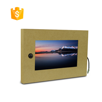 Ultra Low Cost 7 inch Auto Play small size video display