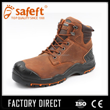 Steel toe wholesale work boots/made in china