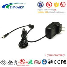 ISO factory Level VI 12vdc 1.5a AC adaptor Universal Power Adapter 12Volt 1.5amp 18W zf120a-1201500