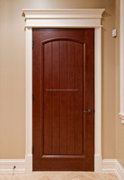 Custom Design Mahogany Prehung Wood Doors Interior