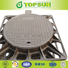 Ductile Cast Iron Square Manhole Cover Price EN124 d400 for North Africa