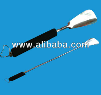 Telescopic shoehorn