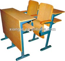 common college classroom chairs, school furniture university step chair/lecture hall chair