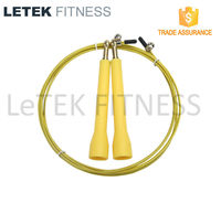 Crossfit Equipment Adjustable Speed Jump Rope /Cable Skipping Rope