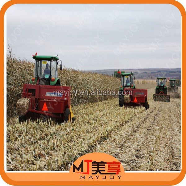 MAYJOY farm machinery pine straw baler for sale widely used in green/dry grass,rice,wheat,corn stover(skype:mayjoy46)