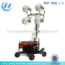 Good quality portable lighting tower generator widely used in construction made in China - LUHENG