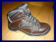 low price buffalo leather safety boots