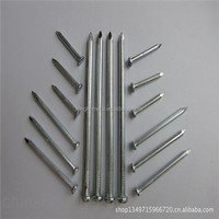 Straight Grain Stainless Steel Concrete Nail