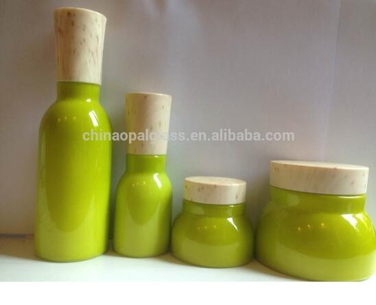 pearling green glass diffuser bottle 2oz decorative for perfume and liquid medicine