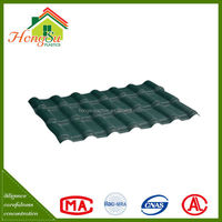 ASA synthetic resin roof tile/synthetic spanish roof tile/spanish style tile roofing/