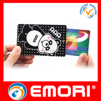 custom advertised publicity printed multifunction portable acrylic id card holder or name card holder