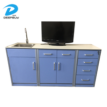 Hot Sale Hospital Furniture Clinic Dental Cabinet With Sensible Tap