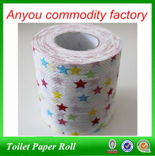 10*10cm 2ply wholesale custom printed colorful printed toilet paper